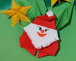 easy to do origami santa claus papai noel de origami paper