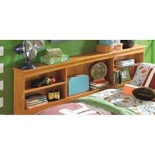 Daybed With Bookcase Headboard Honey Twin Bookcase Daybed With 6 Drawers