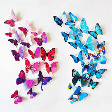 3d butterfly wall sticker set thefashionbooth