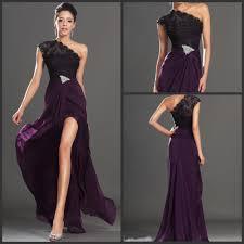plum evening dresses dresses pinterest dark purple prom