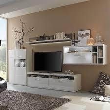 Wohnzimmerschrank Mit Bar Hochglanz Wohnwände Und Weitere Wohnwände Günstig Online Kaufen
