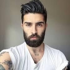 mens style hair bread great hair tatts nose ring prefer less facial hair though
