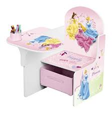 disney chair desk with storage disney princess chair desk with storage bin amazon co uk kitchen