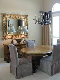 Entryway Wall Mirror Dining Room Fascinating Dining Room Square Gold Frame Wall