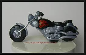 harley davidson cake toppers items similar to motorcycle harley davidson style cake topper
