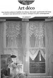 Crochet Lace Curtain Pattern 146 Best Rideaux Images On Pinterest Crochet Curtains Crochet