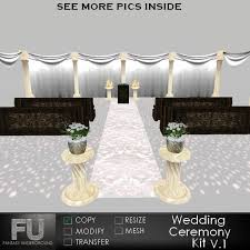 wedding backdrop lighting kit second marketplace wedding ceremony kit v 1 white