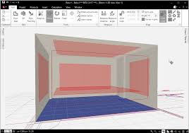 construct a scene from a cad plan relux
