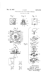 patent us2813158 rotary switch with quick connect terminals