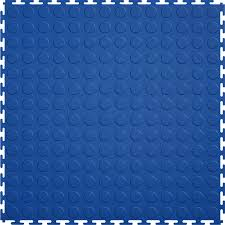 shop garage floor tile at lowes com perfection floor tile 8 piece 20 5 in x 20 5 in dark blue raised