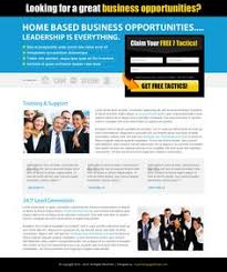 business opportunity effective and creative lander design