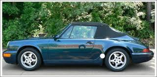 1990 porsche 911 convertible 1983 94 porsche 911 sc cabriolet carrera convertible tops and