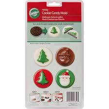 wilton halloween candy molds wilton 8 cavity cookie u0026 candy mold jolly fun 2115 1359 walmart com