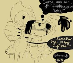 What Is Dbrm Toaster Cuphead And Bendy Inked Inconvenience By Reneesinnerirken On