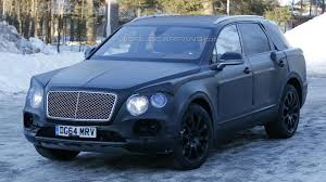 bentley mercedes bentley bentayga spied up close with heavy camo