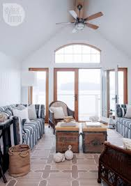 nautical themed living room house tour nautical boathouse cottage living rooms robins and