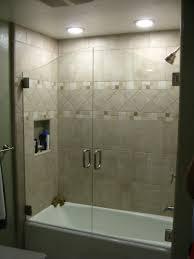 sliding glass door nice corner bathroom one get all design ideas