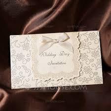 Tri Fold Invitations 32 Tri Fold Wedding Invitations With Ribbon Vizio Wedding