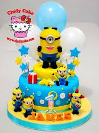 Minion Cake Decorations Meus Favoritos Cakes And Cakes Pinterest Cake Minion Cakes
