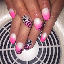 nail art pink with white polka dots youtube pink nails with