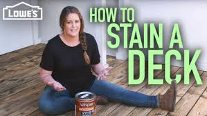 what of stain should i use on my kitchen cabinets how to stain a deck with from the weekender