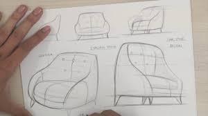 armchair industrial u0026 product design sketching youtube