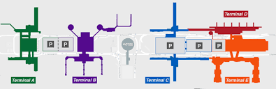 map houston airports houston airport map and terminal map