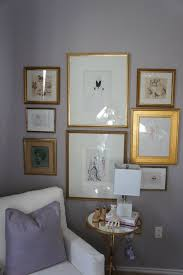 light purple paint with gold accents nursery pinterest gray