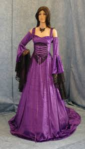 renaissance medieval handfasting wedding fantasy celtic dress