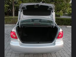 trunk space toyota corolla 2008 toyota corolla ce fort myers florida for sale in fort myers