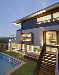 contemporary middle harbour house design by richard cole