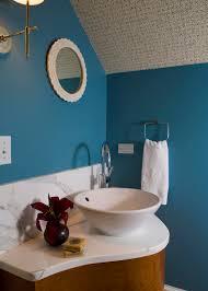 wallpaper in bathroom ideas bathroom blue powder room in teal bathrooms with patterned