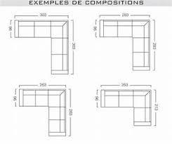 dimension canape d angle dimension canape angle canape angle dimension dimension canape