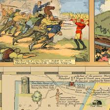 Shawnee Map Historical U0026 Literary Map Of Maryland Battlemaps Us