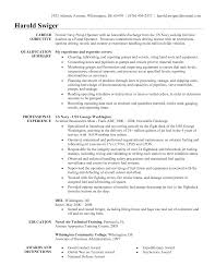 Sample Resume For Forklift Driver by Resume With Military Experience Resume For Your Job Application