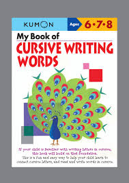 amazon com my book of cursive writing words cursive writing