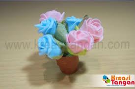 tutorial kerajinan tangan dari kertas gulung kerajinan tangan membuat vas bunga dari kertas felt flower