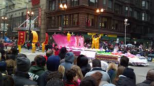 chicago parade thanksgiving falun gong float makes an elegant appearance at chicago u0027s