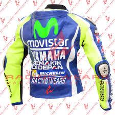 motogp jacket racing wears valentino rossi yamaha movistar motogp 2016 motorbike