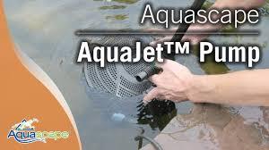Aquascape Pump Aquascape U0027s Aquajet Pump Line Youtube