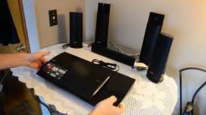 top blu ray home theater systems sony bdv n790w home theater system unboxing youtube