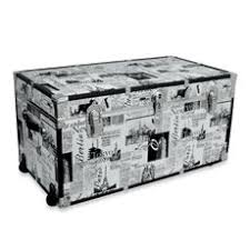 Bed Bath And Beyond Larkspur Trunk Table Great Coffee Table Idea Just Add Legs To Painted