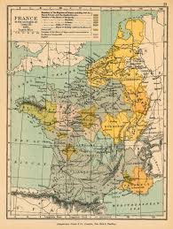 Map Of England And France by Historical Maps Of France
