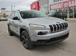 dark gray jeep cherokee used 2017 jeep cherokee sport awd v6 for sale in mirabel quebec