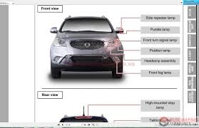 ssangyong korando c c200 2010 10 workshop manual auto repair