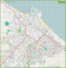 Orlando City Map by Large Detailed Map Of Fano