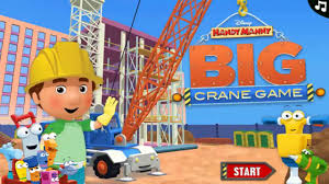 handy manny big crane game gameplay episodes incredible game