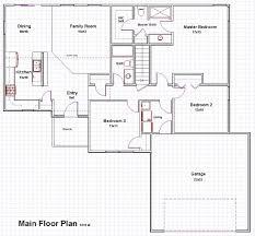 Bungalow Open Concept Floor Plans by Bungalows Floor Plans Home Design Quik Houses Bungalow House Open