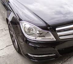 mercedes c class headlights luxury trims mercedes c class