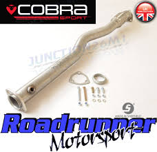 cobra motorsport vauxhall cobra sport astra sri mk5 2nd de cat pipe exhaust stainless